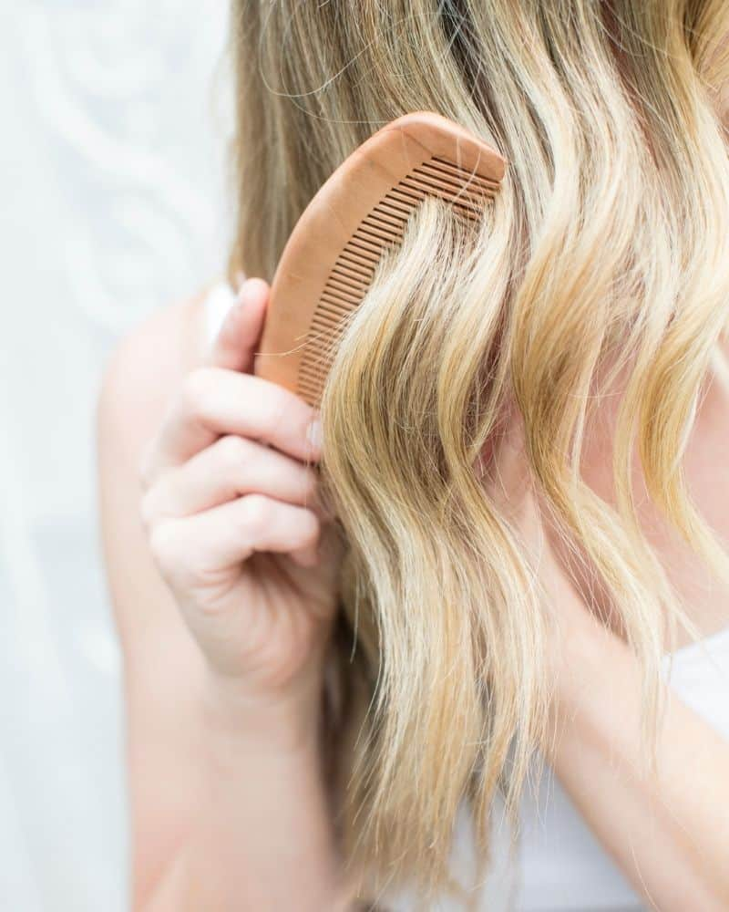 how to get rid of greasy hair at school