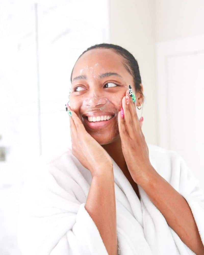 should I use cleanser twice a day?