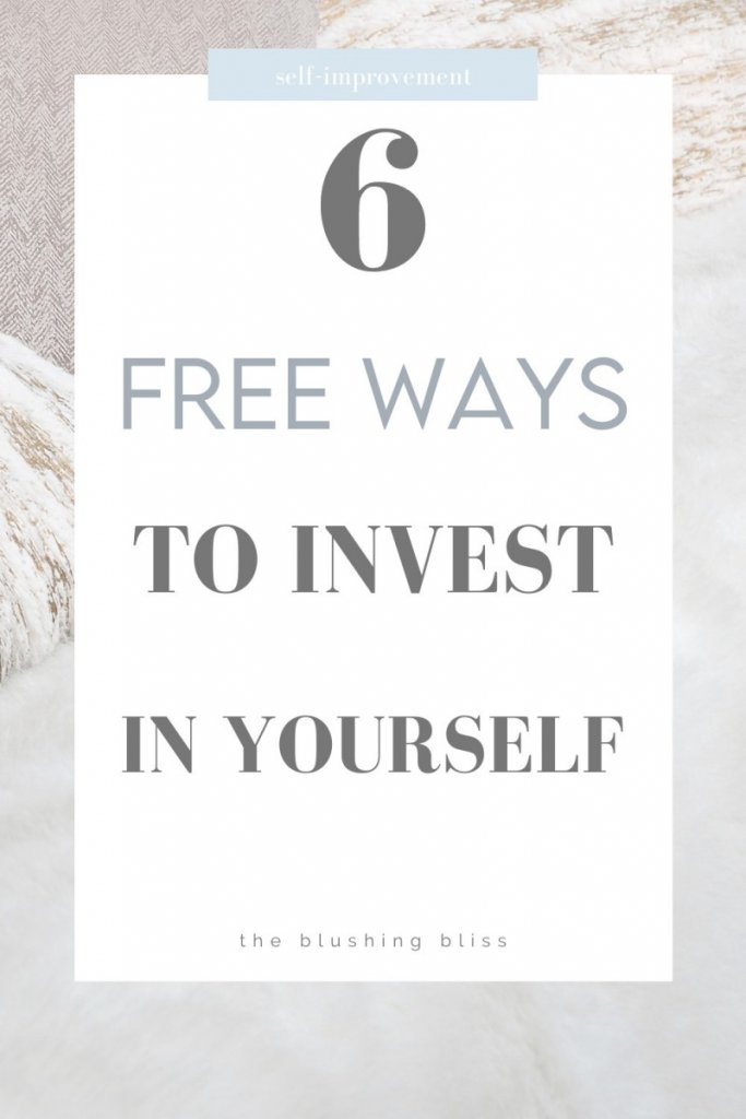 ways to invest in yourself as a woman