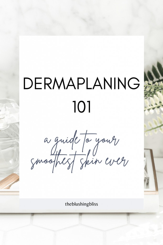 how often can you dermaplane at home
