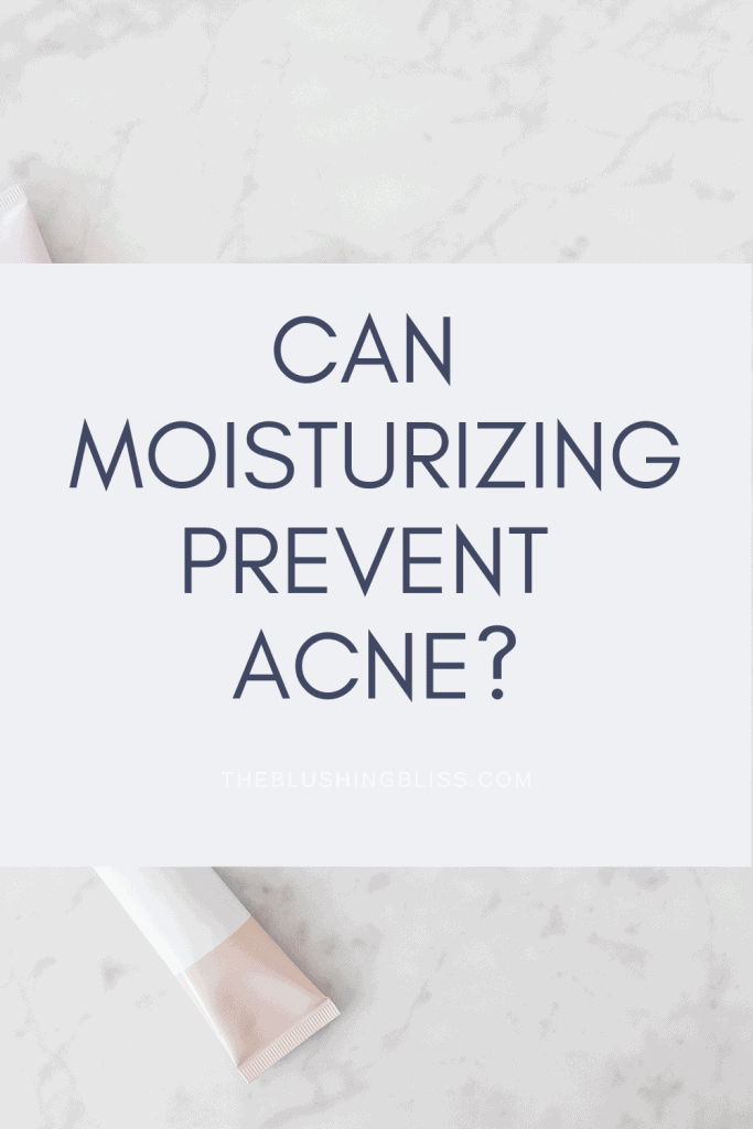 what moisturizer is good for acne prone skin