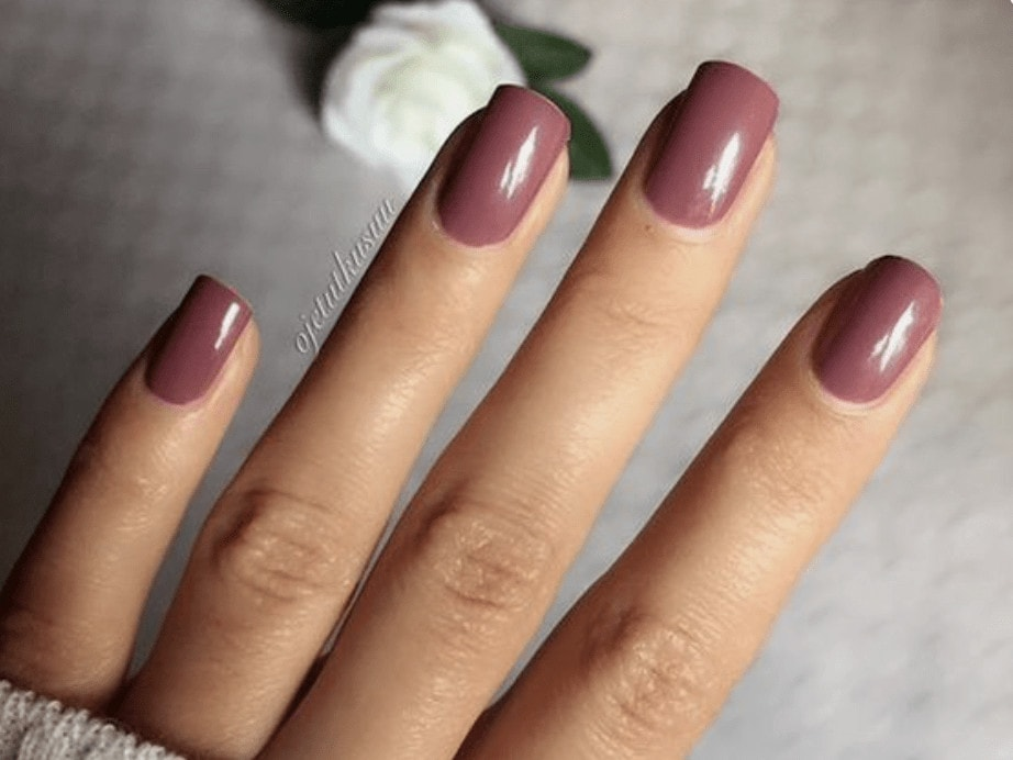 fall nail colors for redheads