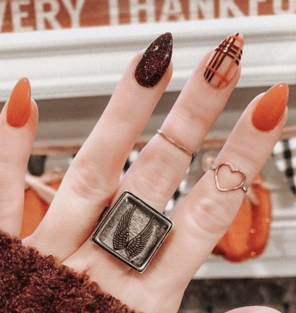 fall nail colors 2021