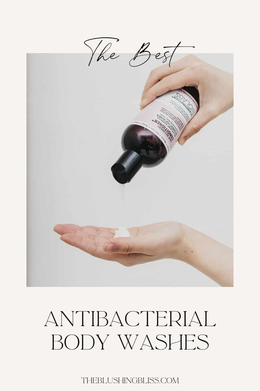 antibacterial body wash for body odor