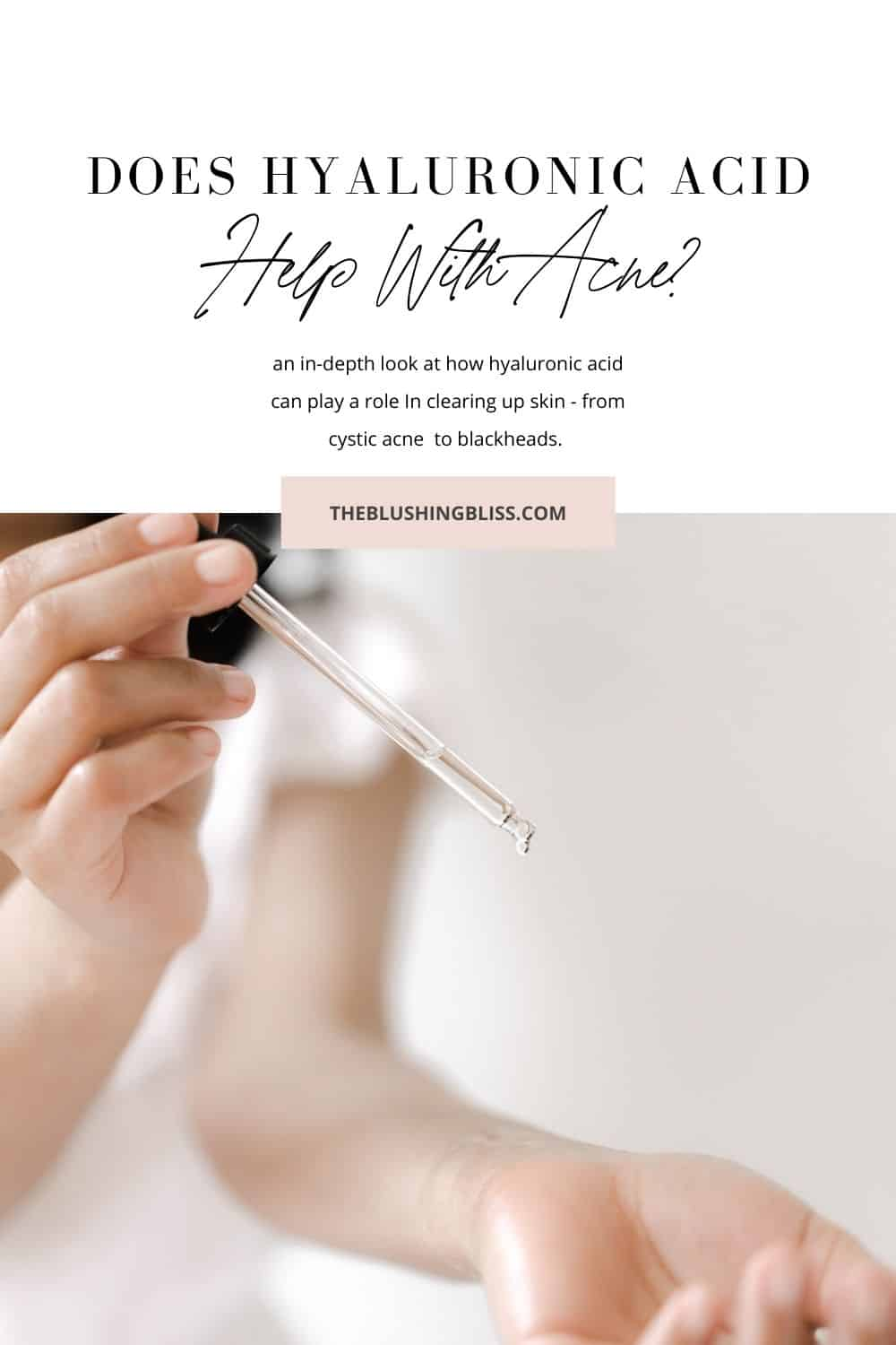 will hyaluronic acid help acne