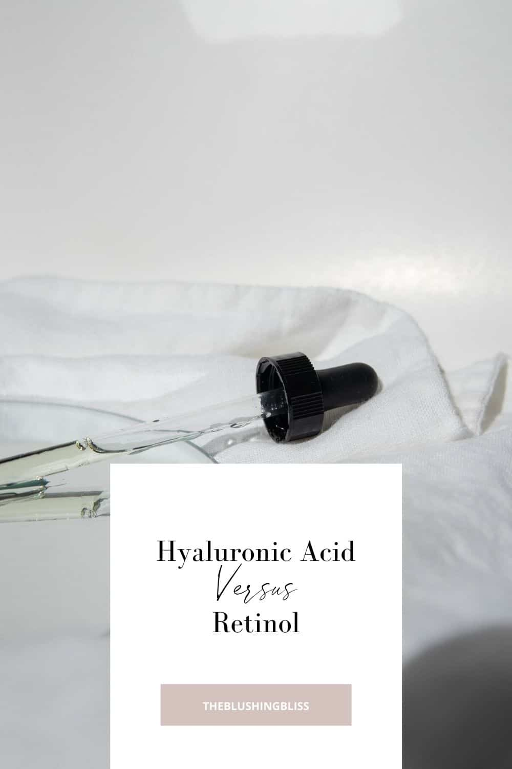 how to layer retinol and hyaluronic acid