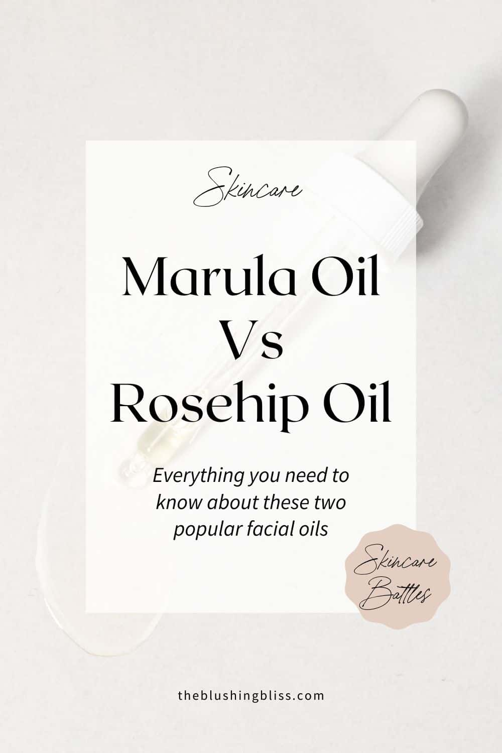 differences between rosehip seed oil and marula oil